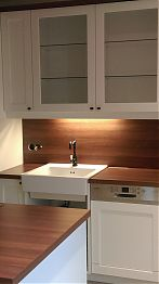 Küche Fronten MDF Weißlack