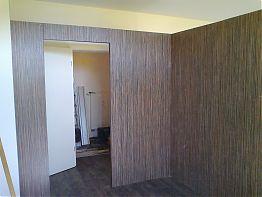 Trennwand mit Zebrano Leichtbauplatten